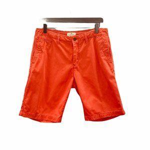 Scotch & Soda Mens Flat Front Shorts Size 30